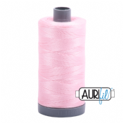 Aurifil 28 Cotton Thread - 2423 (Pale Pink)